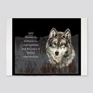 Wolf Totem Animal Spirit Guide for Inspiration 5'x