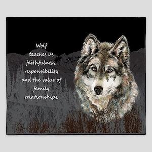 Wolf Totem Animal Spirit Guide for Inspiration Kin