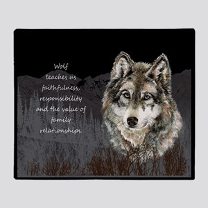 Wolf Totem Animal Spirit Guide for Inspiration Thr