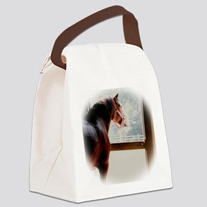 clydesdaleCLOCK Canvas Lunch Bag