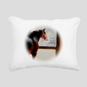 clydesdaleCLOCK Rectangular Canvas Pillow