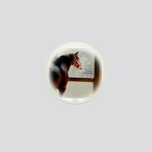 Clydesdale Mini Button