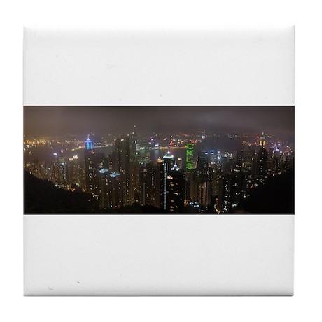 Hong Kong, China, The Peak, Tile Coaster