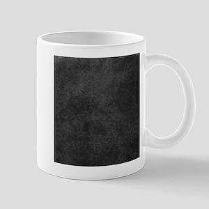 Black Gray Grunge Texture Mugs
