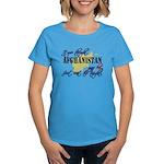 Afghanistan was hot Women's Dark T-Shirt