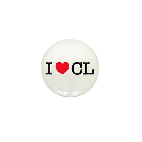 I Love CL Mini Button (10 pack)