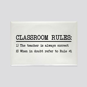 Classroom rules Magnets