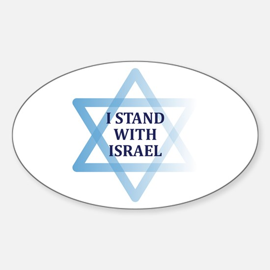 I Stand with Israel Decal