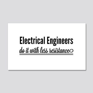 Electrical engineers resistance Wall Decal
