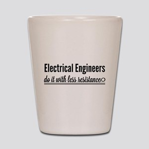 Electrical engineers resistance Shot Glass
