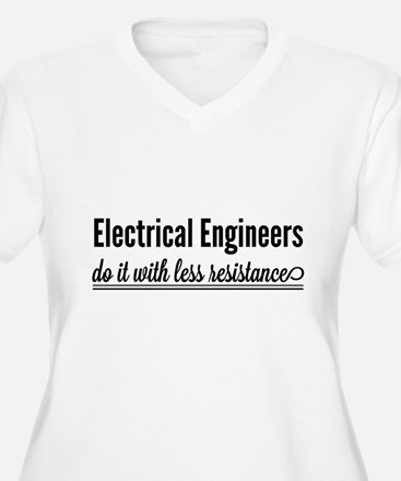 Electrical engineers resistance Plus Size T-Shirt