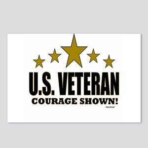 U.S. Veteran Courage Show Postcards (Package of 8)