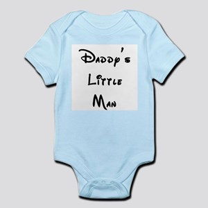 Daddy's Little Man Infant Bodysuit