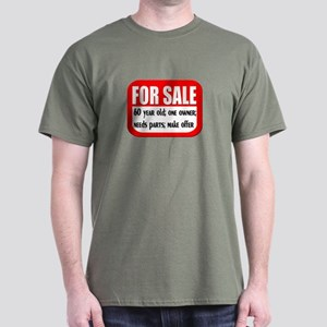 For Sale 60th Birthday Dark T-Shirt