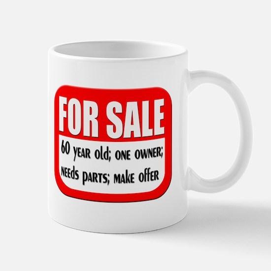 For Sale 60th Birthday Mug