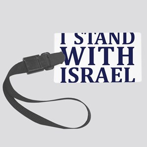 I Stand with Israel - Logo Luggage Tag