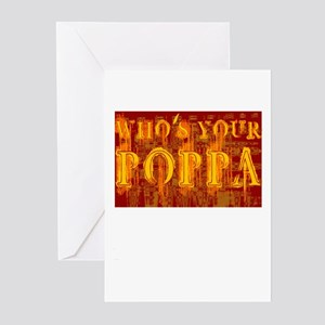 Who's Your Poppa Greeting Cards (Pk of 10)