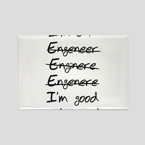 Engineer misspelling Magnets
