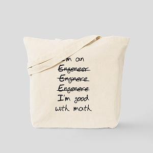 Engineer misspelling Tote Bag