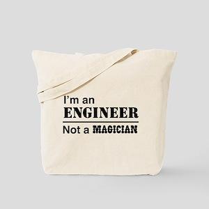 Engineer, not magician Tote Bag