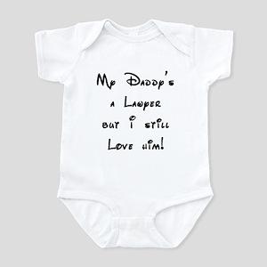 My Daddy's a Lawyer Infant Bodysuit