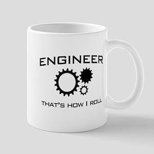 Engineer that's how I roll Mugs