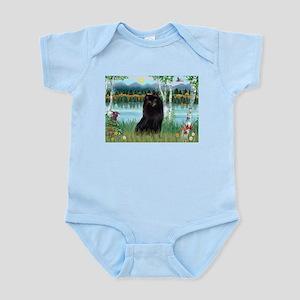 Birches / Schipperke Infant Bodysuit