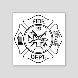 Fire department symbol Sticker