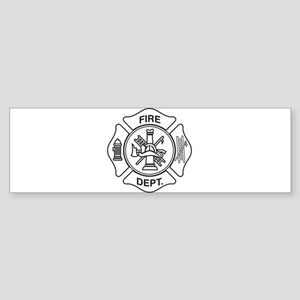 Fire department symbol Bumper Sticker