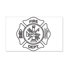 Fire department symbol Wall Decal