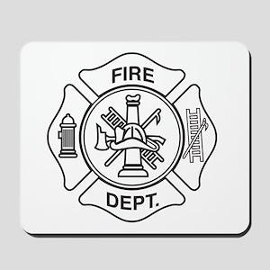 Fire department symbol Mousepad