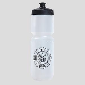 Fire department symbol Sports Bottle