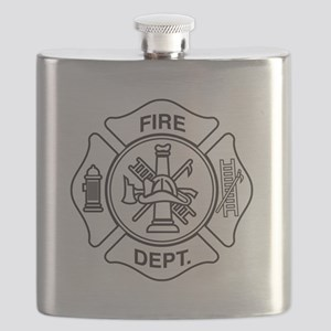 Fire department symbol Flask