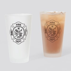 Fire department symbol Drinking Glass
