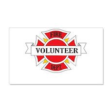 Fire department volunteer Wall Decal