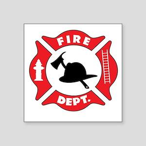 Fire department 2 Sticker