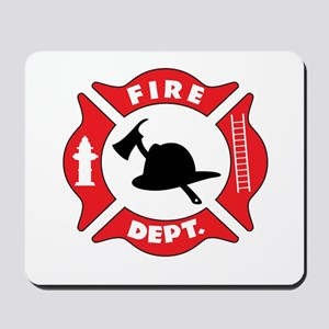 Fire department 2 Mousepad