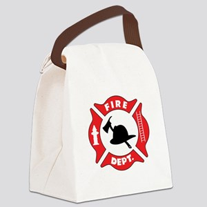 Fire department 2 Canvas Lunch Bag