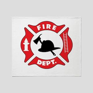 Fire department 2 Throw Blanket