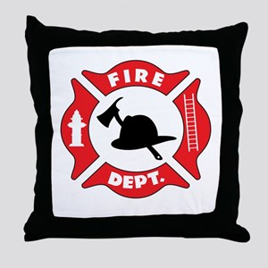 Fire department 2 Throw Pillow