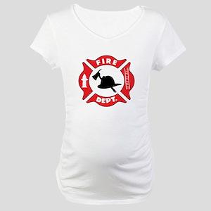 Fire department 2 Maternity T-Shirt