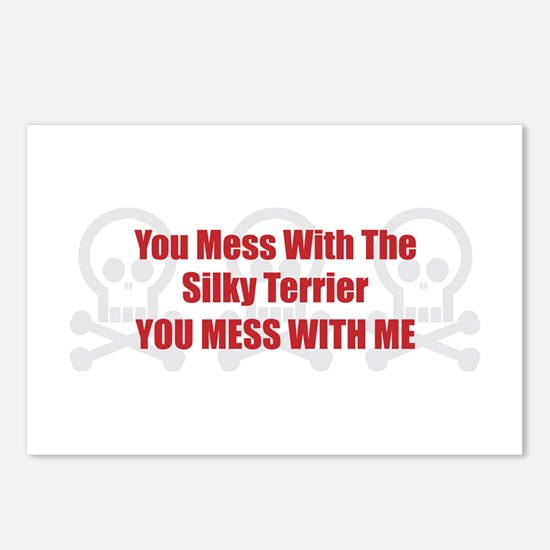Mess With Silky Postcards (Package of 8)
