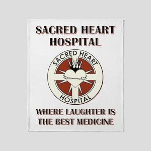 SACRED HEART HOSPITAL Throw Blanket