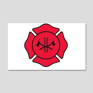 Fire dept symbol 2 Wall Decal