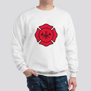 Fire dept symbol 2 Sweatshirt