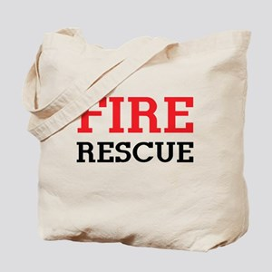 Fire rescue Tote Bag