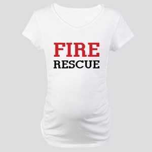 Fire rescue Maternity T-Shirt