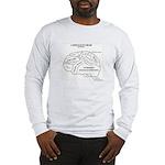 Democrat's Brain Long Sleeve T-Shirt