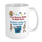 Teachers Are Cool Large Mug Mugs