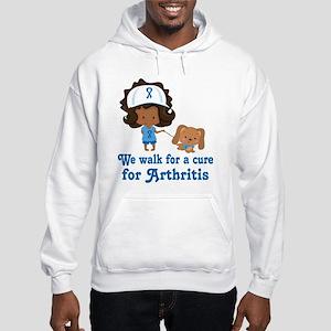 Arthritis Walk Ethnic Hooded Sweatshirt
